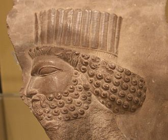 Iranian Canadians - Relief sculpture with Persian Imperial Guardsman,  5th century BC, Royal Ontario Museum, Toronto