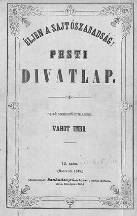 Pesti Divatlap – Wikipédia