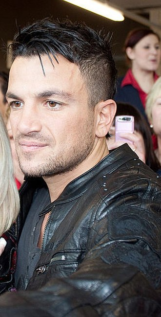 Peter Andre - Andre on 5 February 2010.