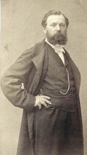 Jules Achille Noël - Jules Noël, photograph by Pierre Petit