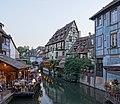 Petite Venise depuis le pont de la rue de Turenne (Colmar) (03).jpg