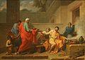 Peyron - Marcus Curius Dentatus refusant les présents des Samnites.jpg