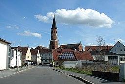 Pfeffenhausen Pfarrkirche St. Martin