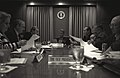 Photograph of President William Jefferson Clinton Meeting in the Situation Room - NARA - 7595485.jpg