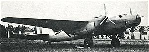 Piaggio P.50 - One of the two P.50-I prototypes