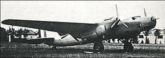 Piaggio P.50 - One of the two P.50-I prototypes