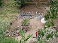 Pico da Antonia-Construction d'un petit barrage.jpg