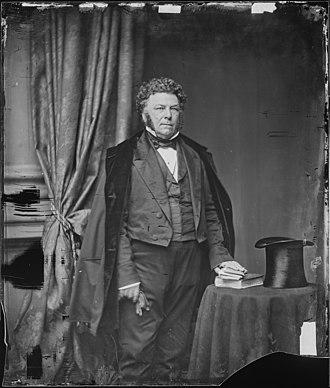 James Pearce - James A. Pearce, photograph by Mathew Brady