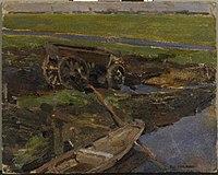 Piet Mondriaan - Op het land (authentiek) - A278 - Piet Mondrian, catalogue raisonné.jpg