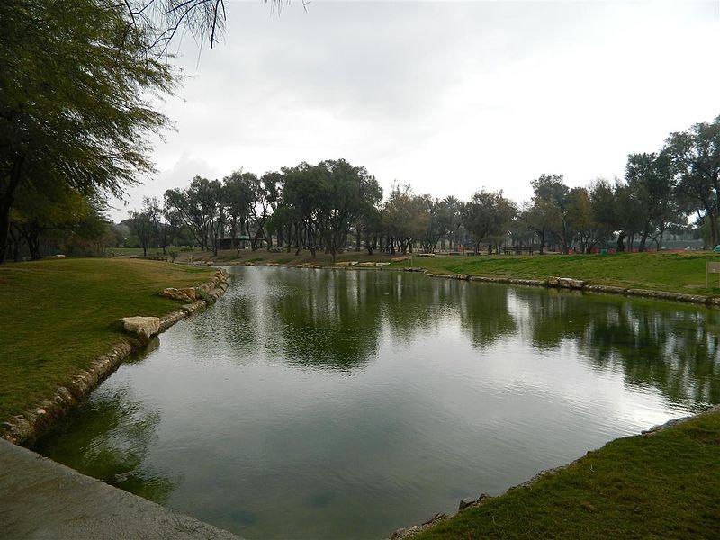 האגם בפארק אשכול