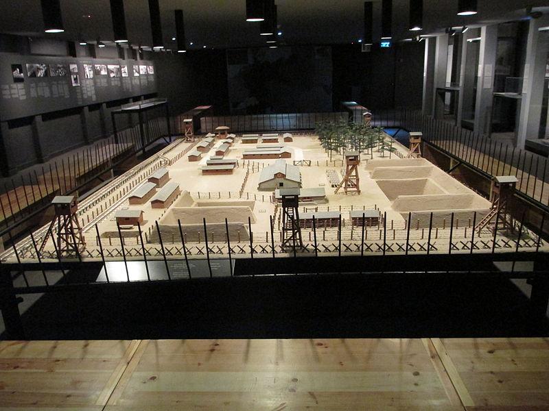 דגם מחנה ההשמדה טרבלינקה