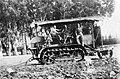 PikiWiki Israel 589 Kibutz Gan-Shmuel ks21- 150 גן-שמואל-הטרקטור הראשון 1925-30.jpg