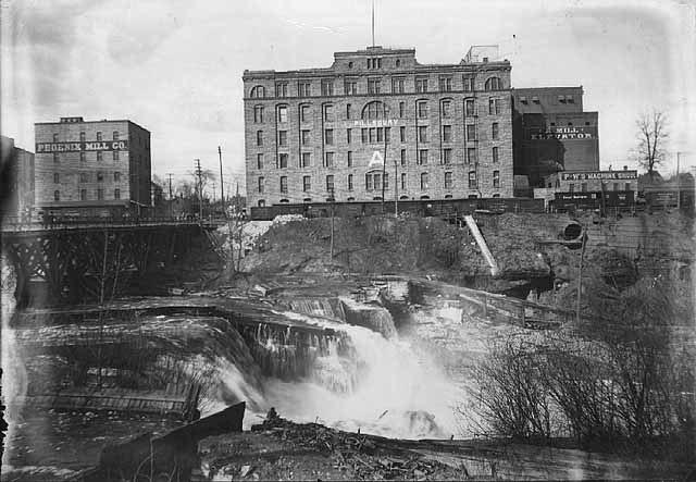 Pillsbury and Phoenix mills