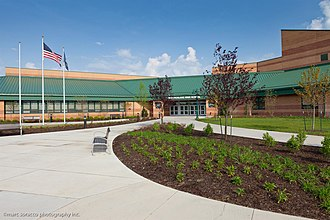 Pine-Richland High School - Image: Pine Richland highschool front