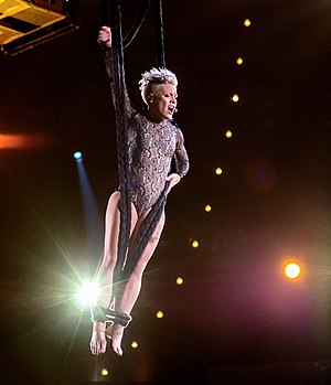 Pink (singer) - Pink performing at the Grammys in 2014