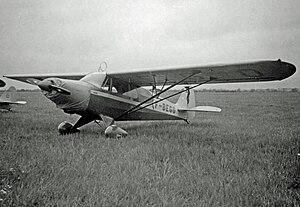 Piper PA-14 Family Cruiser - French-registered PA-14 Family Cruiser at Sherburn-in-Elmet Airfield, Yorkshire in 1950