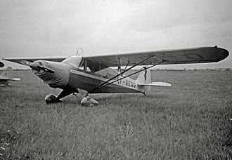 Piper PA-14 Family Cruiser - French-registered PA-14 Family Cruiser at Sherburn-in-Elmet Airfield, Yorkshire in 1950