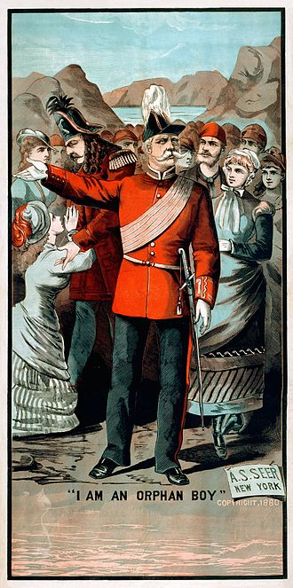 Major-General's Song - 1880 poster