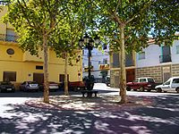Plaça del Mesón de Soneixa, Alt Palància.JPG