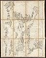 Plan de la baie de Narraganset dans la Nouvelle Angleterre - avec toutes les îles qu'elle renferme parmi lesquelles se trouvent Rhode-Island et l'île de Connonicut (10143099015).jpg