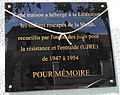 Plaque commemorative 81 avenue du Colonel Fabien, Livry-Gargan.jpg