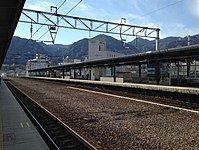 Platform of Beppu Station (south).JPG