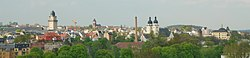Panoramic view over Plauen