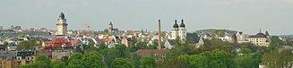 Plauen - Panoramic view over Plauen