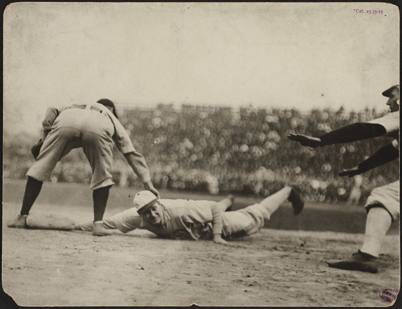 Play at first, 1906 World Series