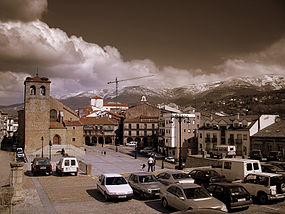Plaza Mayor de Béjar