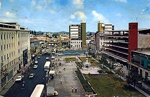 San Salvador - Historic Downtown early 1970s