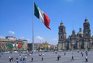 Plaza de la Constitucion Ciudad de Mexico City.jpg