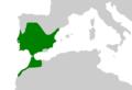 Pleurodeles waltl range Map cutted.png
