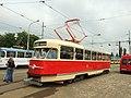 Plzeň, Vozovna Slovany, tramvaj T2.JPG