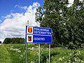 Pohjanmaa and Isokyrö border sign.jpg