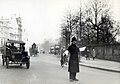 Police directing traffic at Hyde Park Corner in London in 1927.jpg
