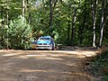 Police on a track in the Hambach forest 03.jpg