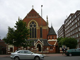 Balham - The Polish Roman Catholic Church of Christ the King