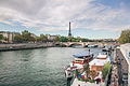 Pont des Invalides and Eiffel Tower, Paris october 2011.jpg