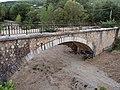 Pont ferroviaire Nartuby Draguignan lieudit pont Aups train Pignes Provence 2016.jpg
