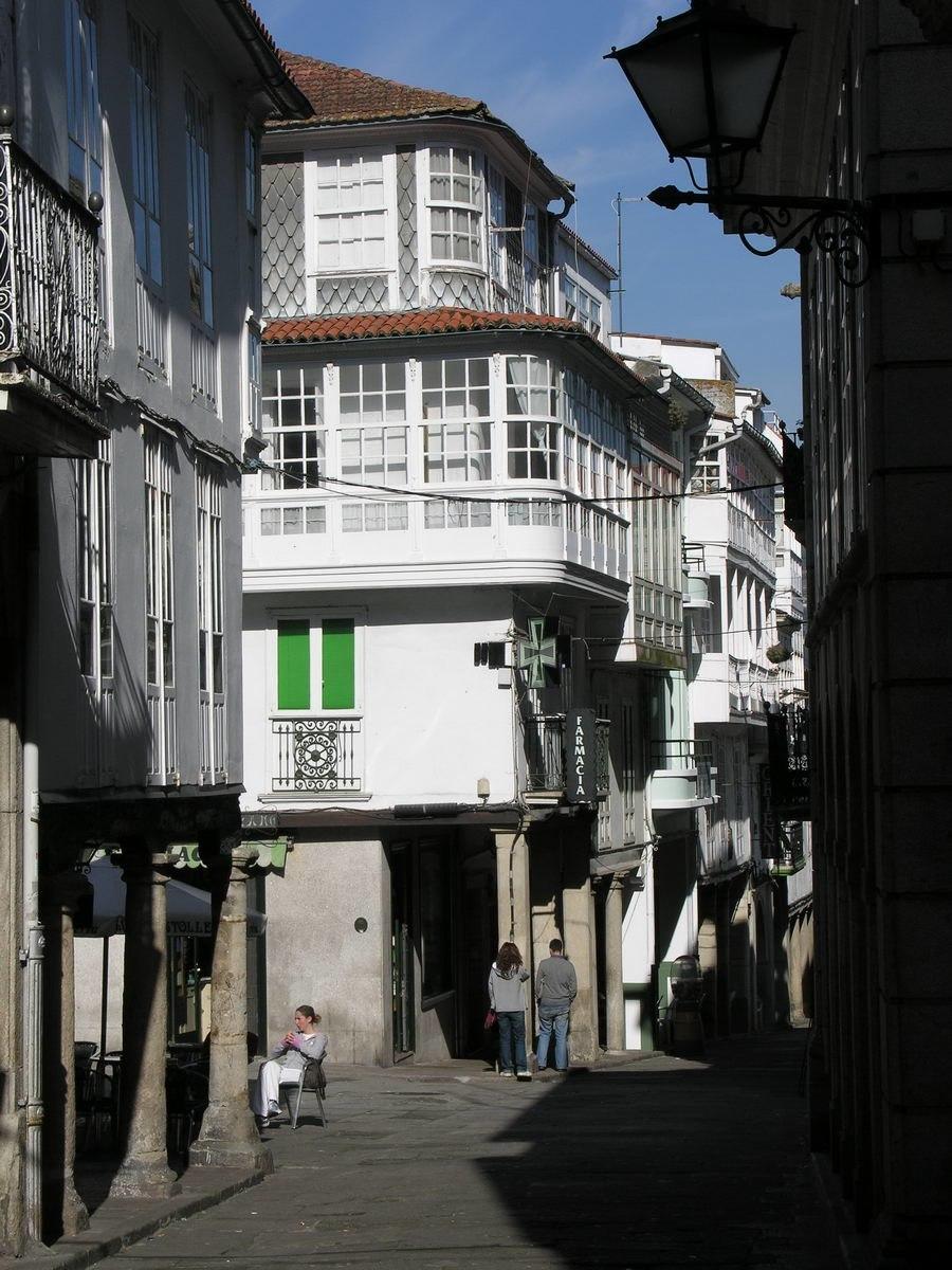 Rúa Real.
