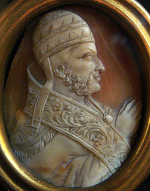 Pope Nicholas III - Image: Pope Nicholas III Cameo