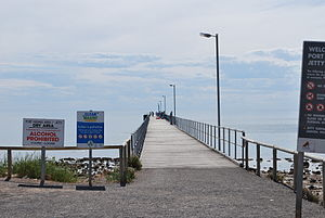 Port Hughes, South Australia - Image: Port Hughes Jetty