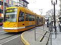 Portland Streetcar at SW 10th and Stark (2014) - 1.jpg