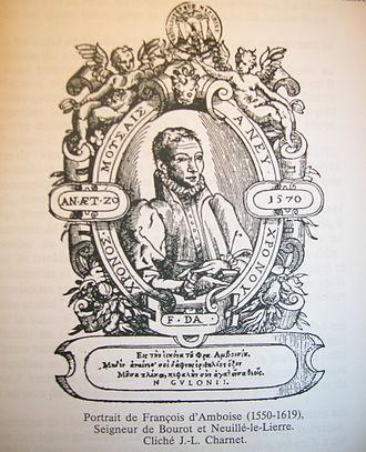 François d'Amboise - Portrait of François d'Amboise