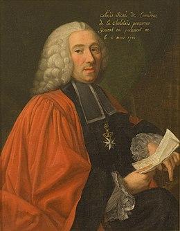 Portrait de Louis René de Caradeux de Chalotais (1701-), procureur général au parlement de Rennes.jpg