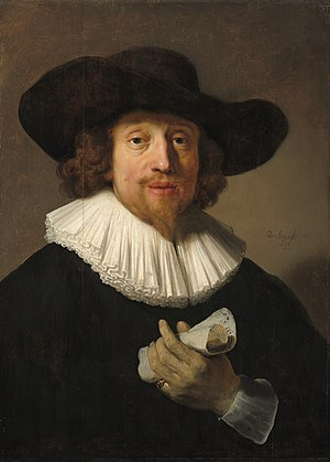 Heinrich Schütz - Image: Portrait of a musician possibly by Rembrandt