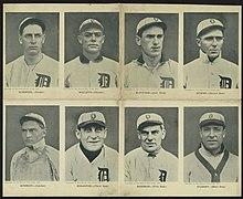 1908 Detroit Tigers Season Wikipedia