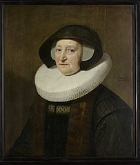 Portrait of Maria Petitpas (?-1640)