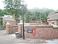 Postbox at Blist Hill Open Air Museum - geograph.org.uk - 1456177.jpg